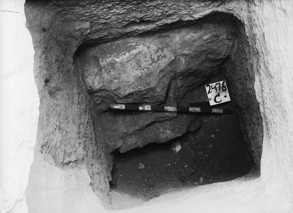 Western Cemetery: Site: Giza; View: G 2476