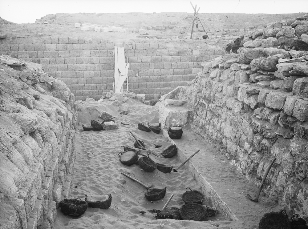 Western Cemetery: Site: Giza; View: G 2130, G 2120, G 2100