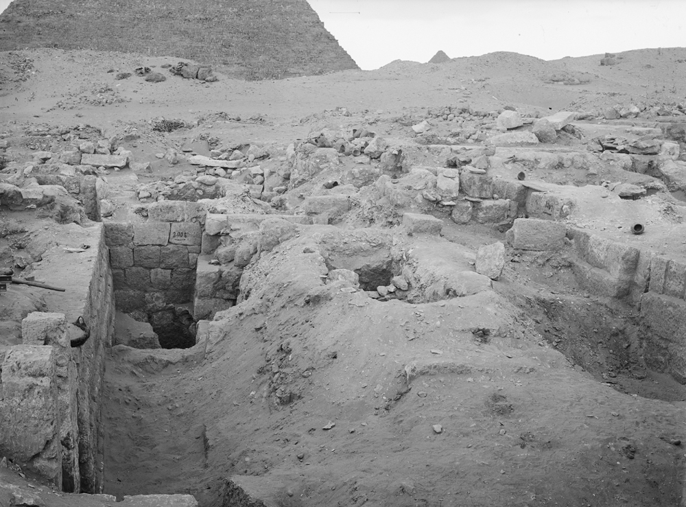 Western Cemetery: Site: Giza; View: G 2011, G 2008, G 2007