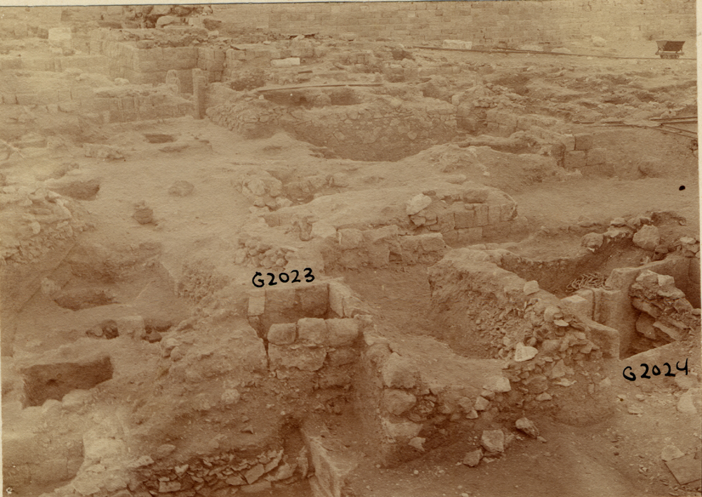 Western Cemetery: Site: Giza; View: G 2023, G 2024