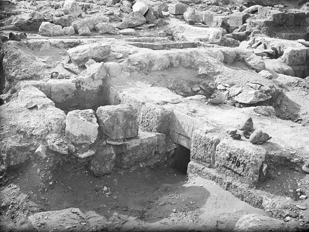 Western Cemetery: Site: Giza; View: G 2007