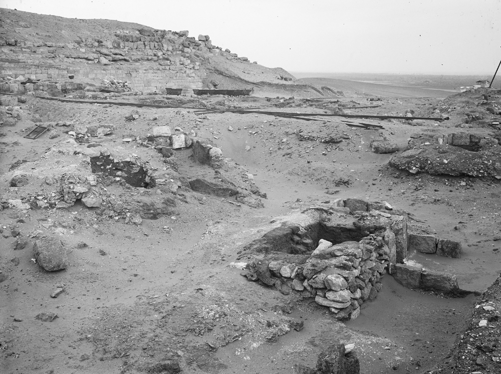 Western Cemetery: Site: Giza; View: G 2017