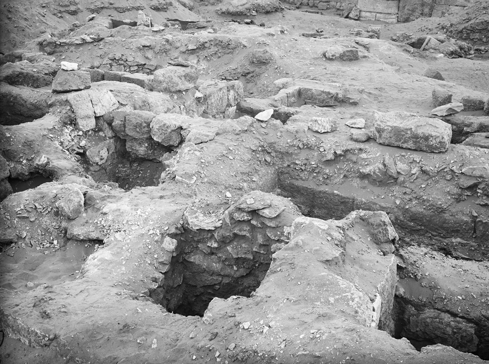 Western Cemetery: Site: Giza; View: G 2014