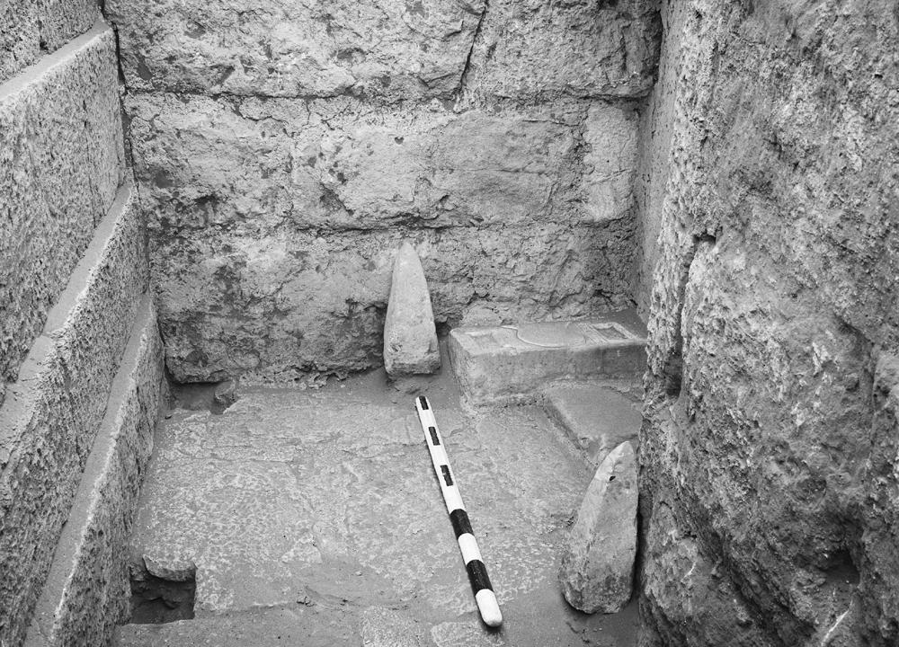 Menkaure Quarry Cemetery: Site: Giza; View: MQ 3