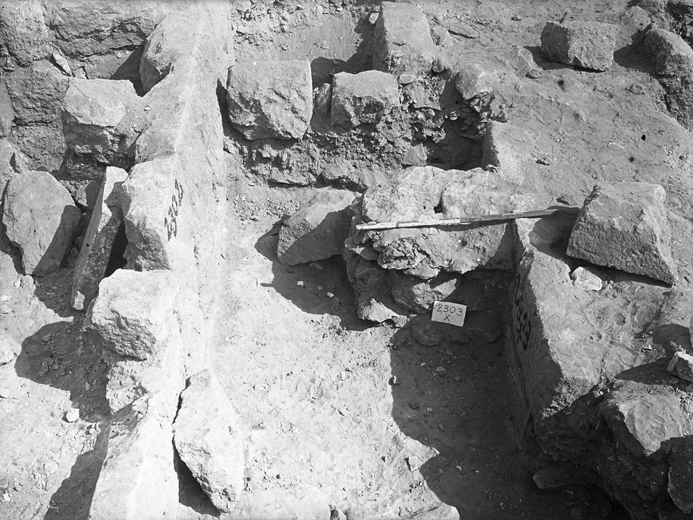 Western Cemetery: Site: Giza; View: G 2303