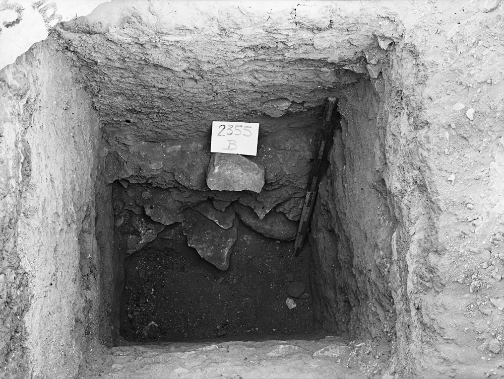 Western Cemetery: Site: Giza; View: G 2355