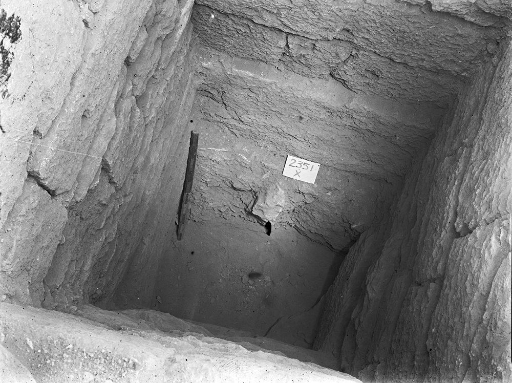 Western Cemetery: Site: Giza; View: G 2351