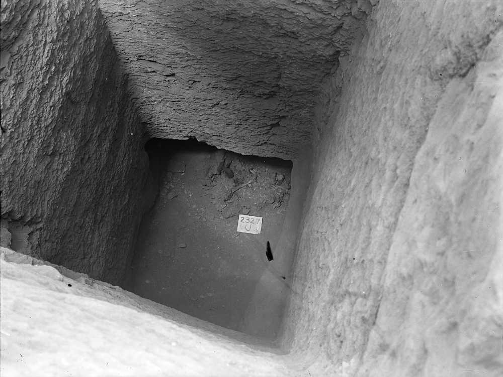 Western Cemetery: Site: Giza; View: G 2327