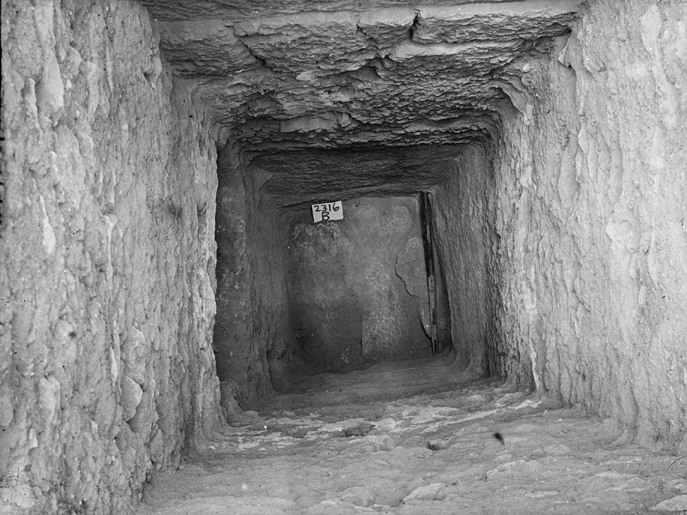 Western Cemetery: Site: Giza; View: G 2316