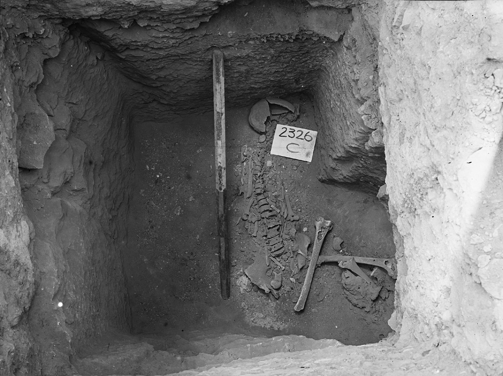 Western Cemetery: Site: Giza; View: G 2326
