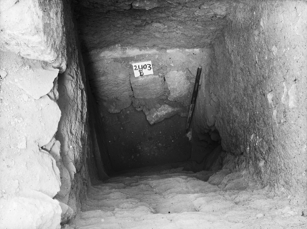 Western Cemetery: Site: Giza; View: G 2403