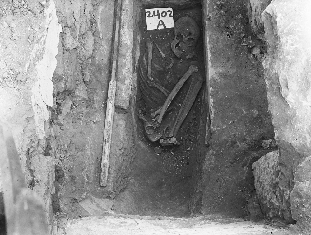 Western Cemetery: Site: Giza; View: G 2404