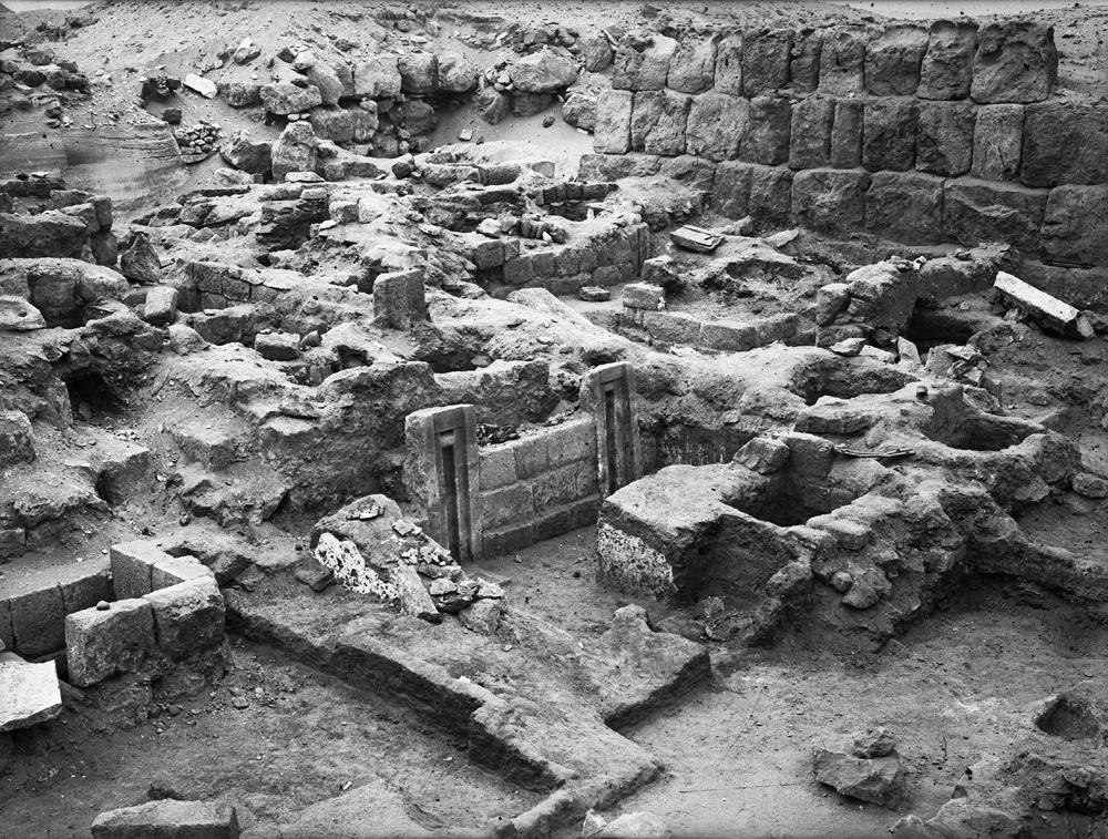 Western Cemetery: Site: Giza; View: G 2151, G 2152, G 2139, G 2138, G 2134