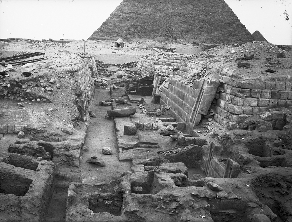 Western Cemetery: Site: Giza; View: G 2150, G 2170, G 2151, G 2154, G 2153, G 2152