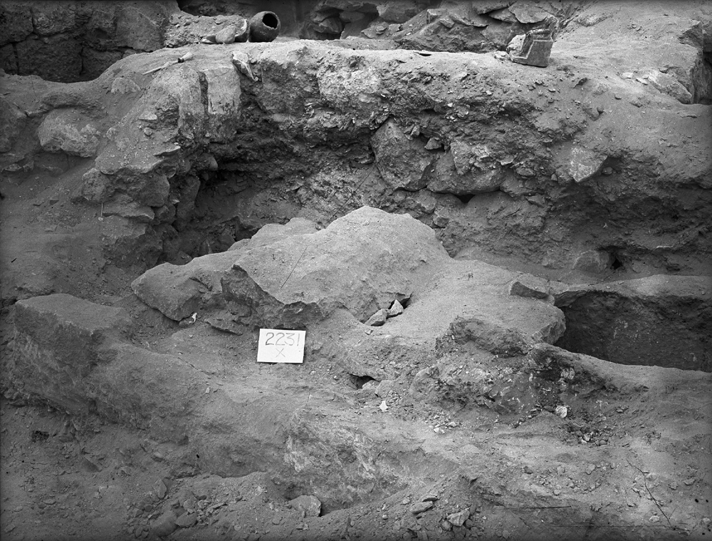 Western Cemetery: Site: Giza; View: G 2231 X