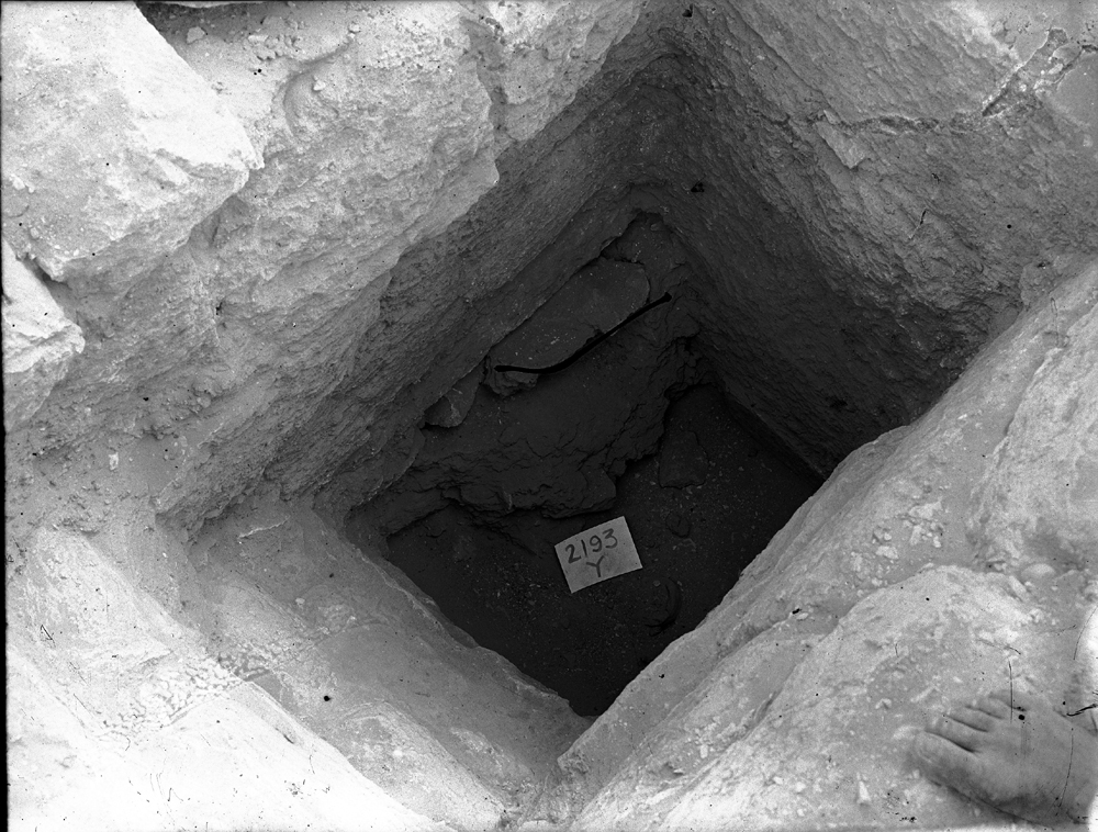 Western Cemetery: Site: Giza; View: G 2193