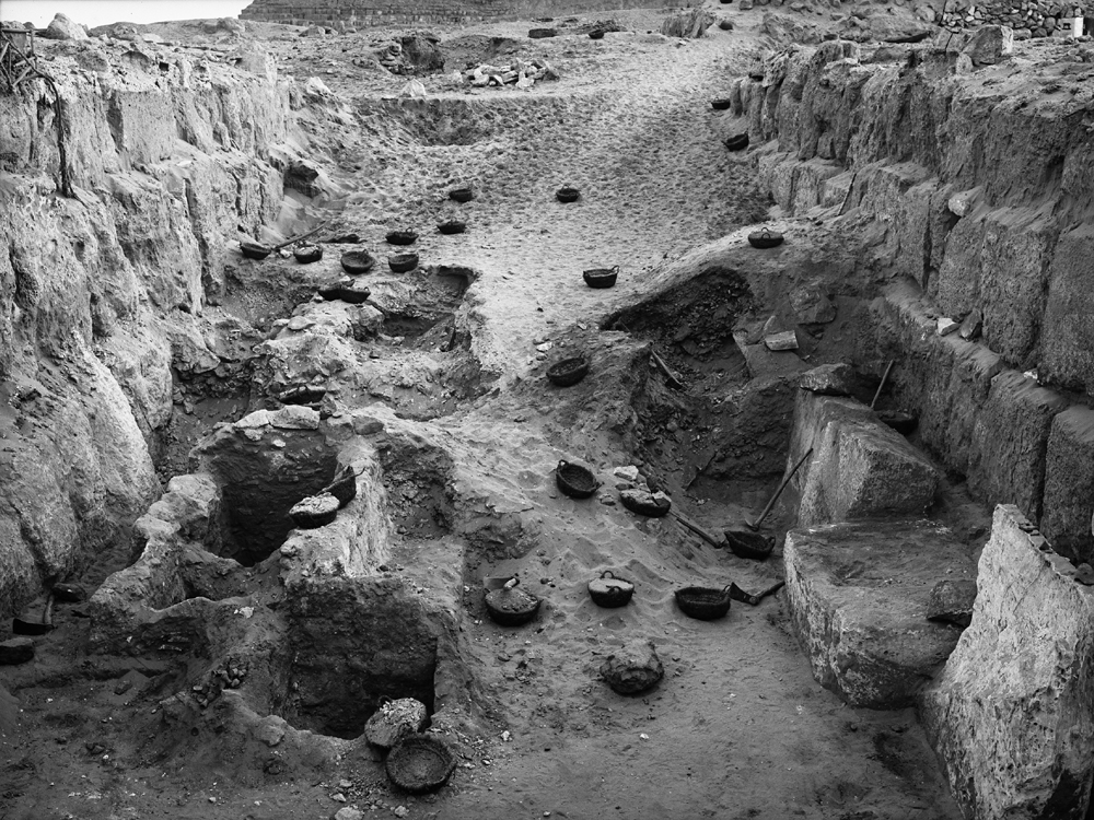 Western Cemetery: Site: Giza; View: G 4640, G 4740, G 4643