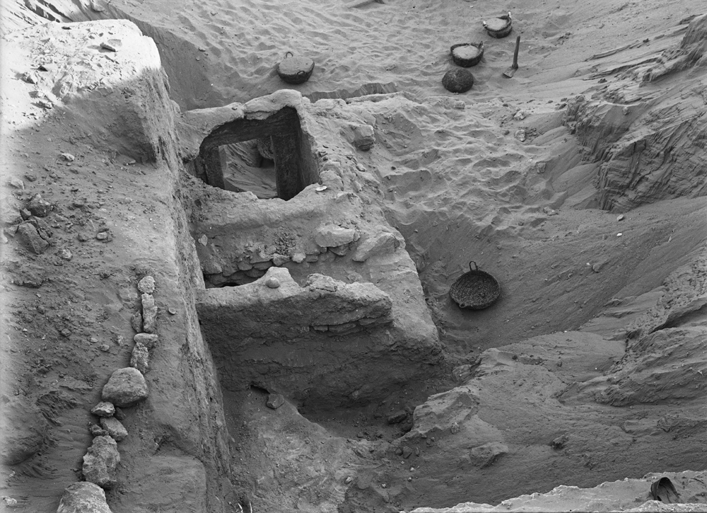 Menkaure Quarry Cemetery: Site: Giza; View: MQ 133