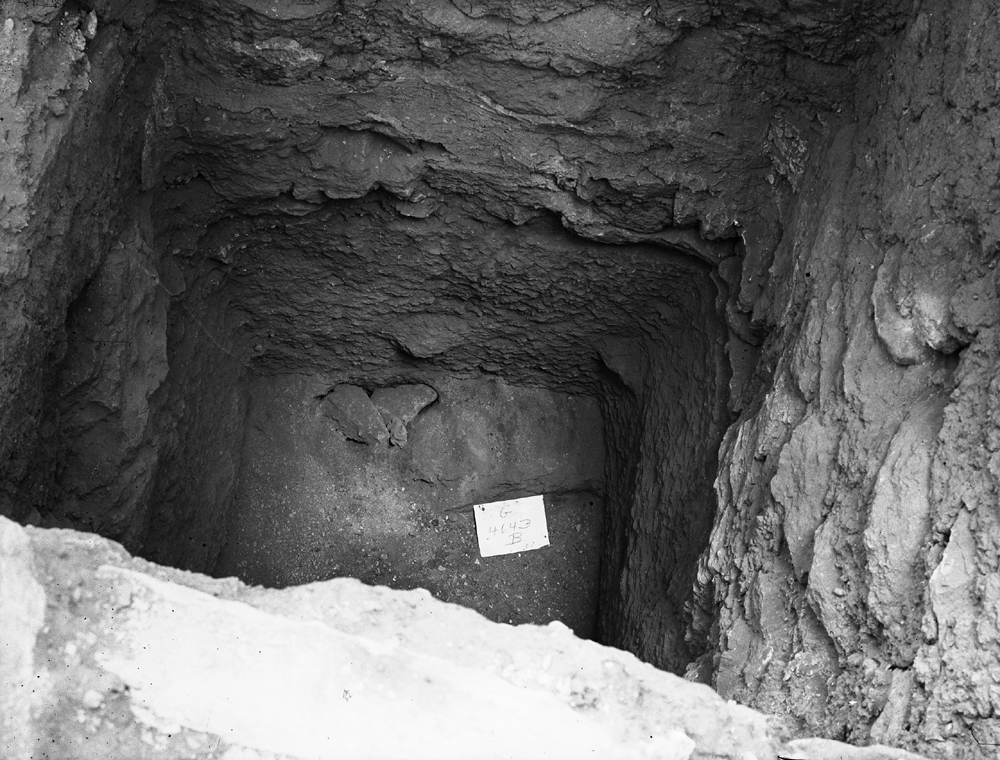 Western Cemetery: Site: Giza; View: G 4643