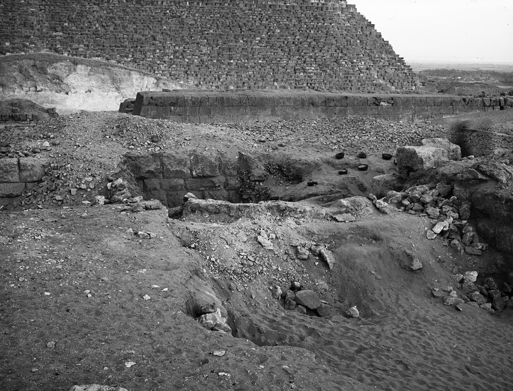 Western Cemetery: Site: Giza; View: G 4831