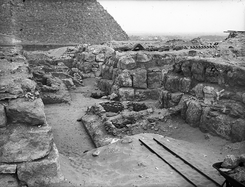 Western Cemetery: Site: Giza; View: G 4520, G 4530, G 4522, G 4521