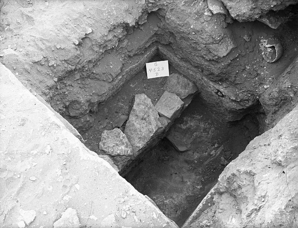 Western Cemetery: Site: Giza; View: G 4523
