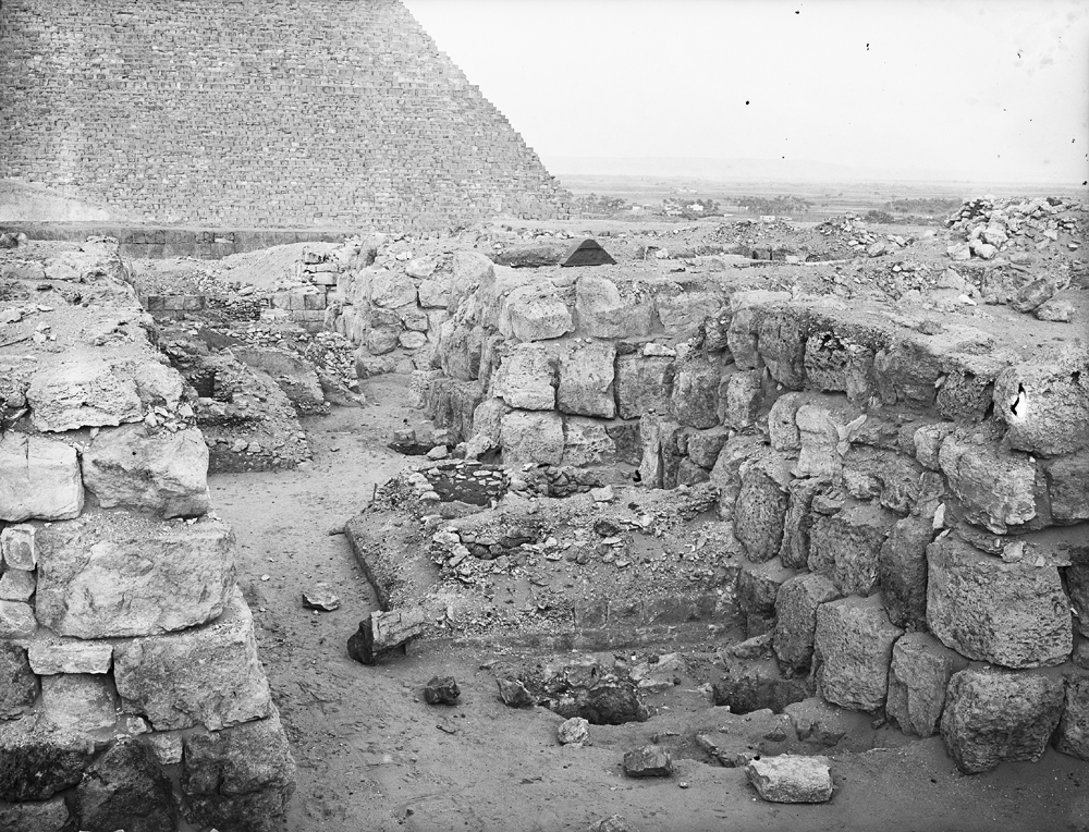 Western Cemetery: Site: Giza; View: G 4520, G 4530, G 4524, G 4522, G 4521