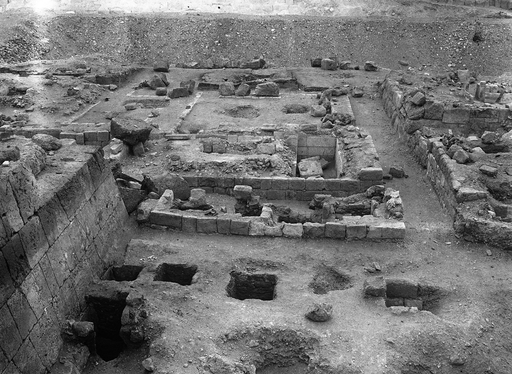 Western Cemetery: Site: Giza; View: G 5230, G 5231a, G 5231, G 5234