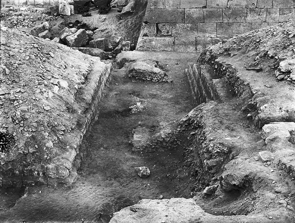 Western Cemetery: Site: Giza; View: G 5130, G 5140, G 5230