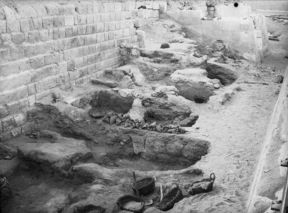 Western Cemetery: Site: Giza; View: G 2100, G 2114