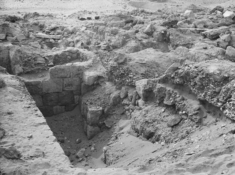 Western Cemetery: Site: Giza; View: G 2008