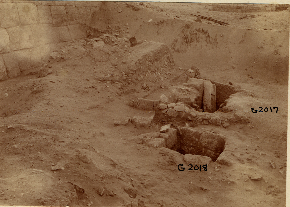 Western Cemetery: Site: Giza; View: G 2017, G 2024