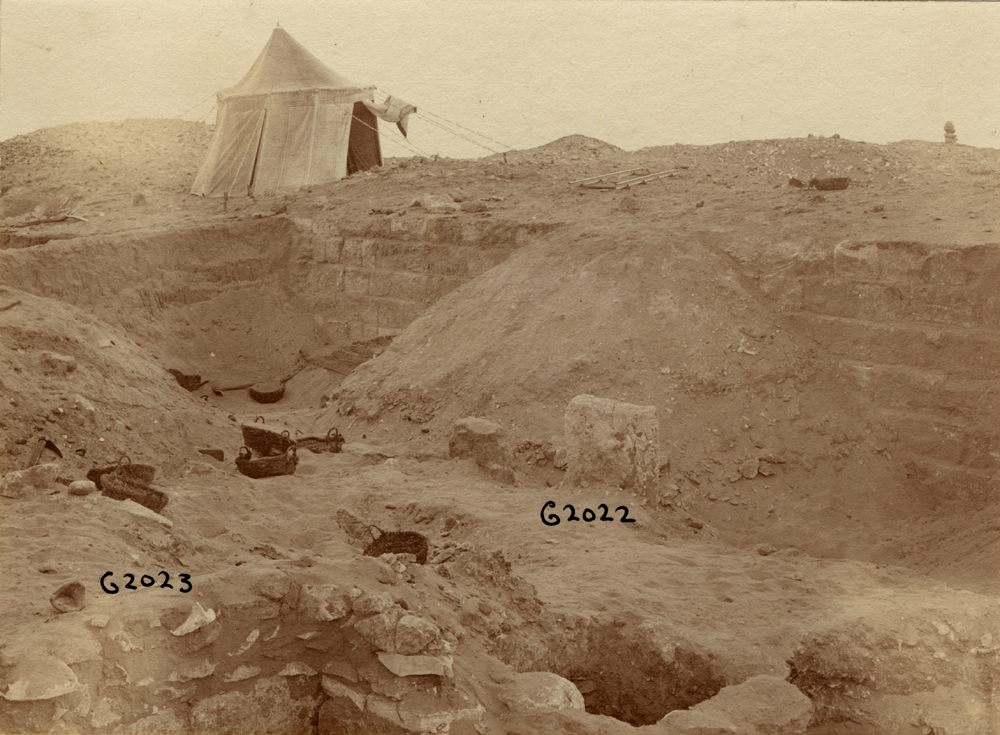 Western Cemetery: Site: Giza; View: G 2022, G 2023