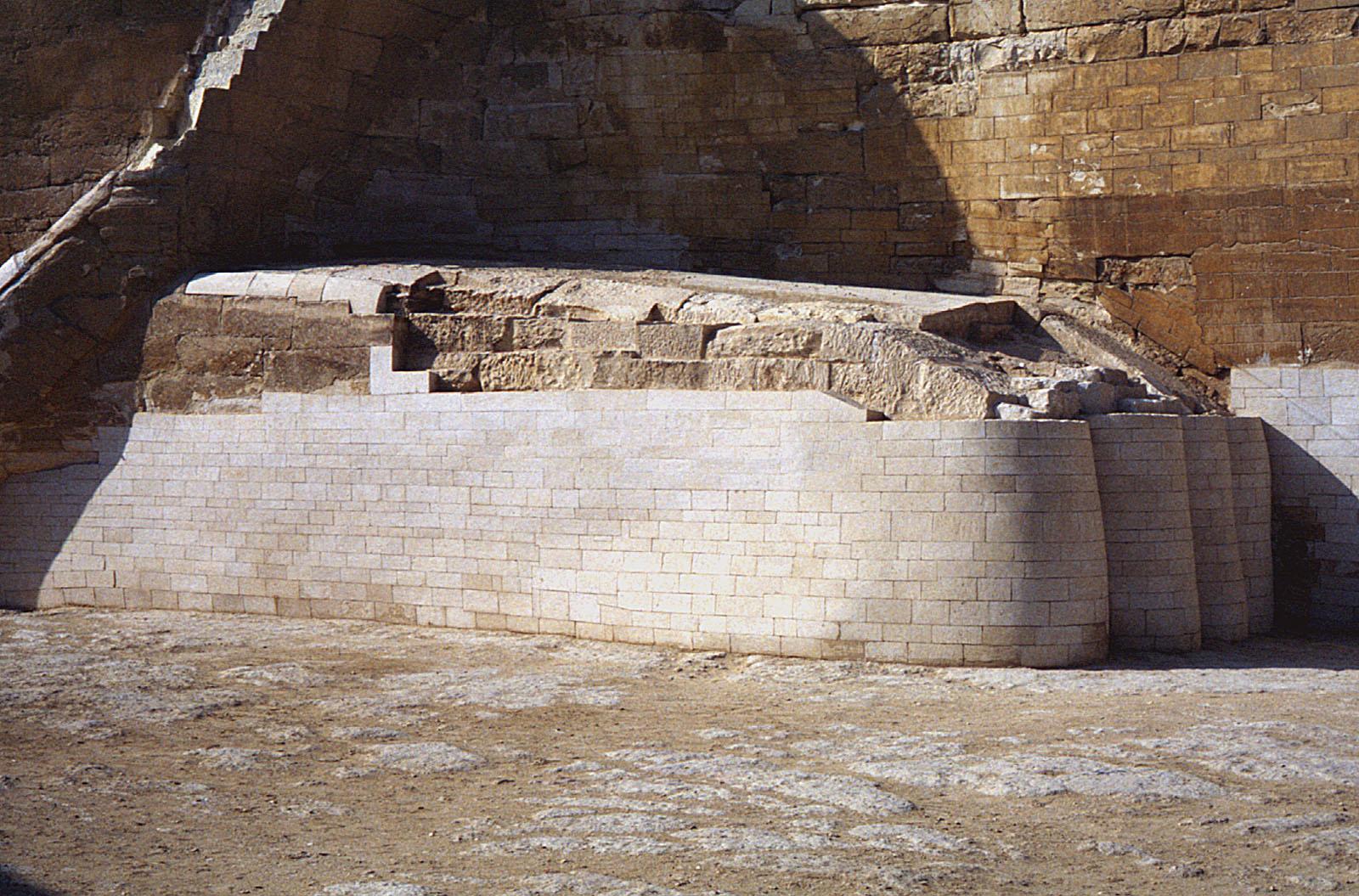 Sphinx Complex: Site: Giza; View: Sphinx
