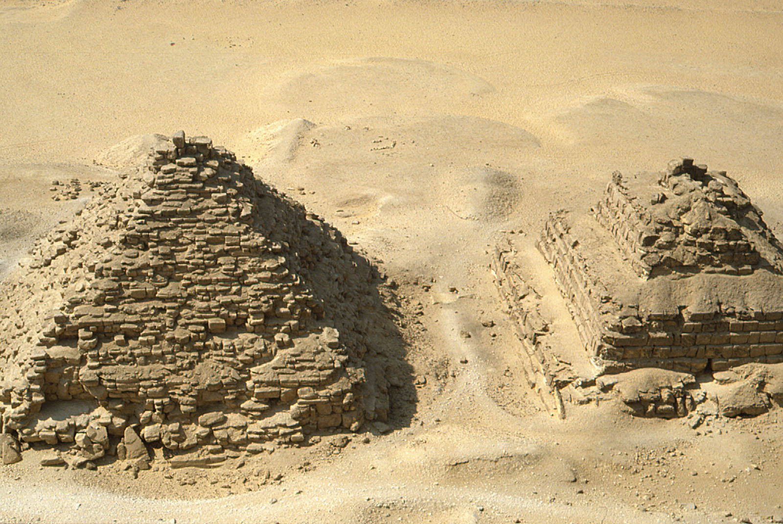 Menkaure Pyramid Complex: Site: Giza; View: G III-a, G III-b
