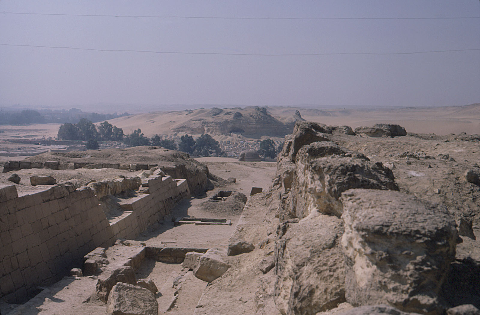 Eastern Cemetery: Site: Giza; View: street G 7400, G 7430-7440, G 7530-7540