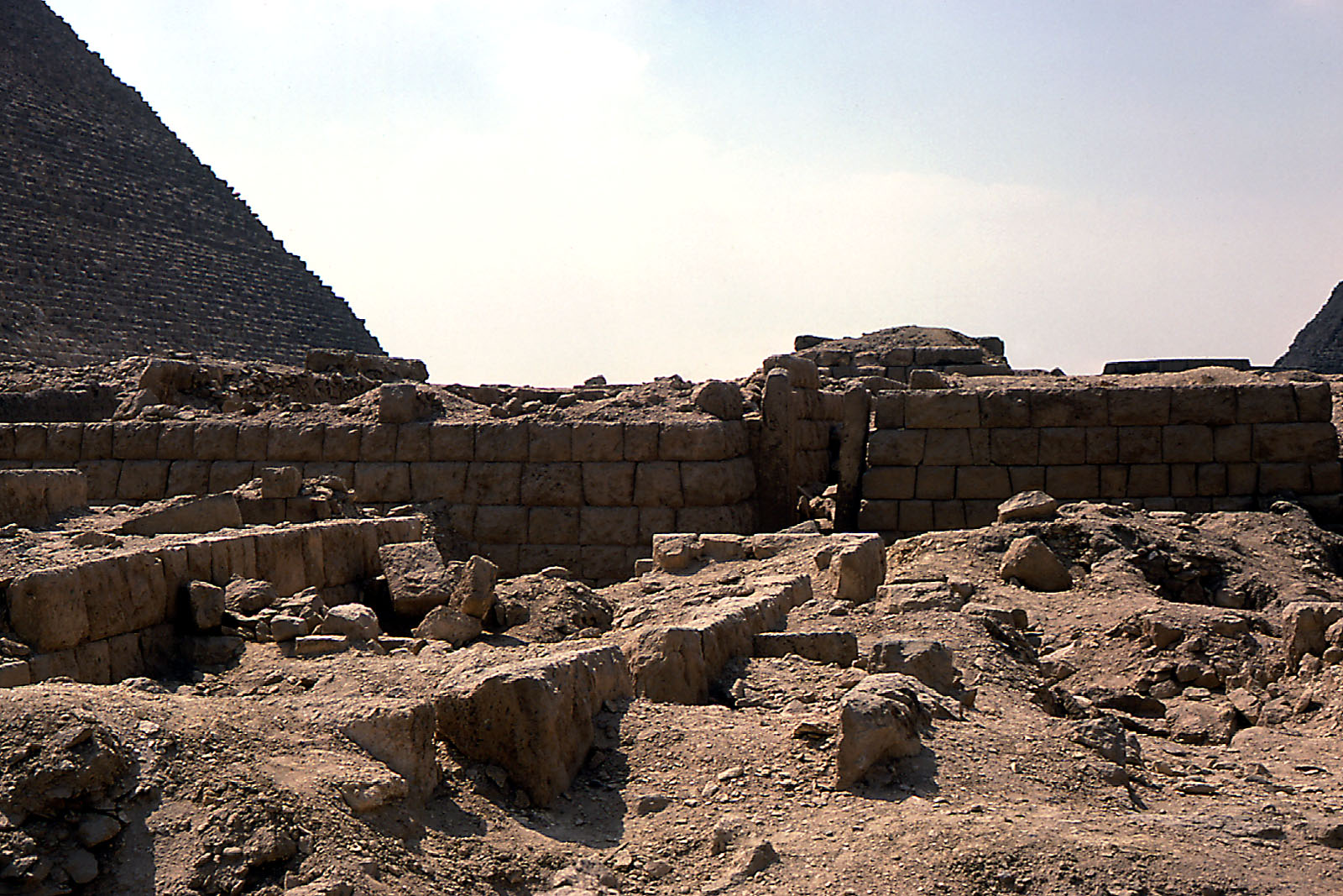 Western Cemetery: Site: Giza; View: G 2403, G 2408, G 2407, G 2360, G 2353