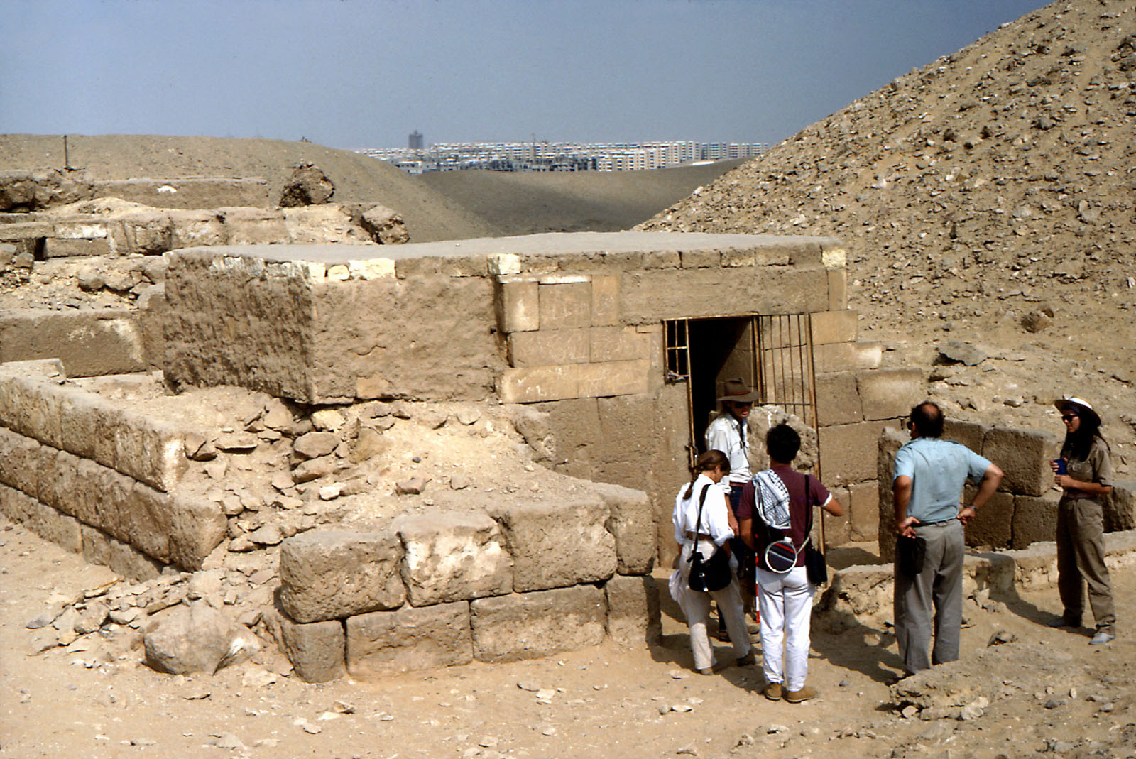 Western Cemetery: Site: Giza; View: G 2084