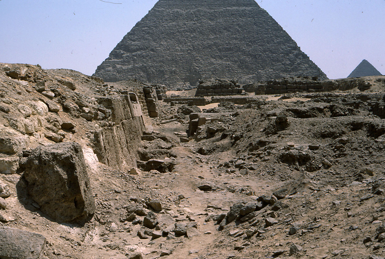 Western Cemetery: Site: Giza; View: G 2100, G 2110, G 2041, G 2051