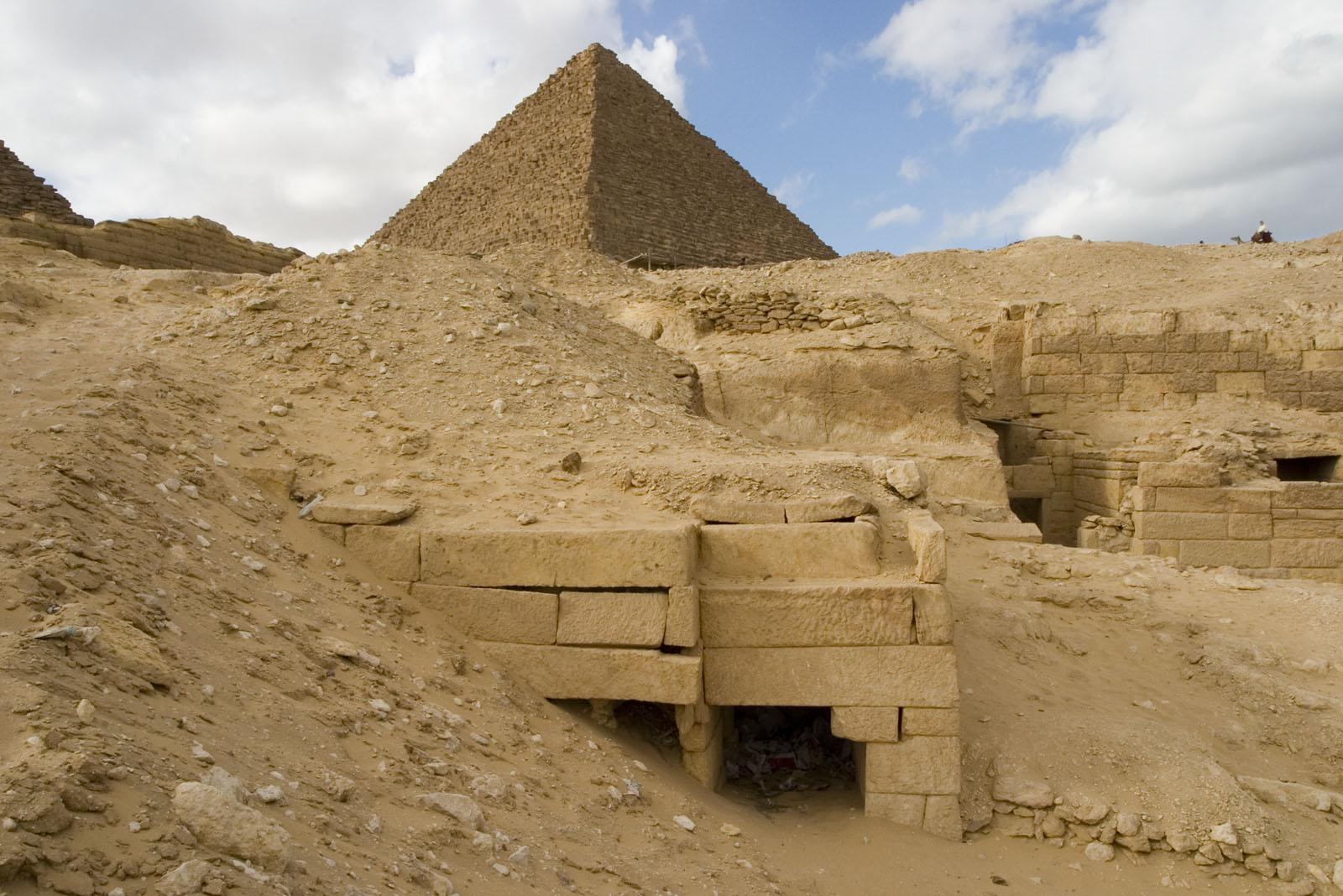 Menkaure quarry cemetery: Site: Giza; View: MQ 123