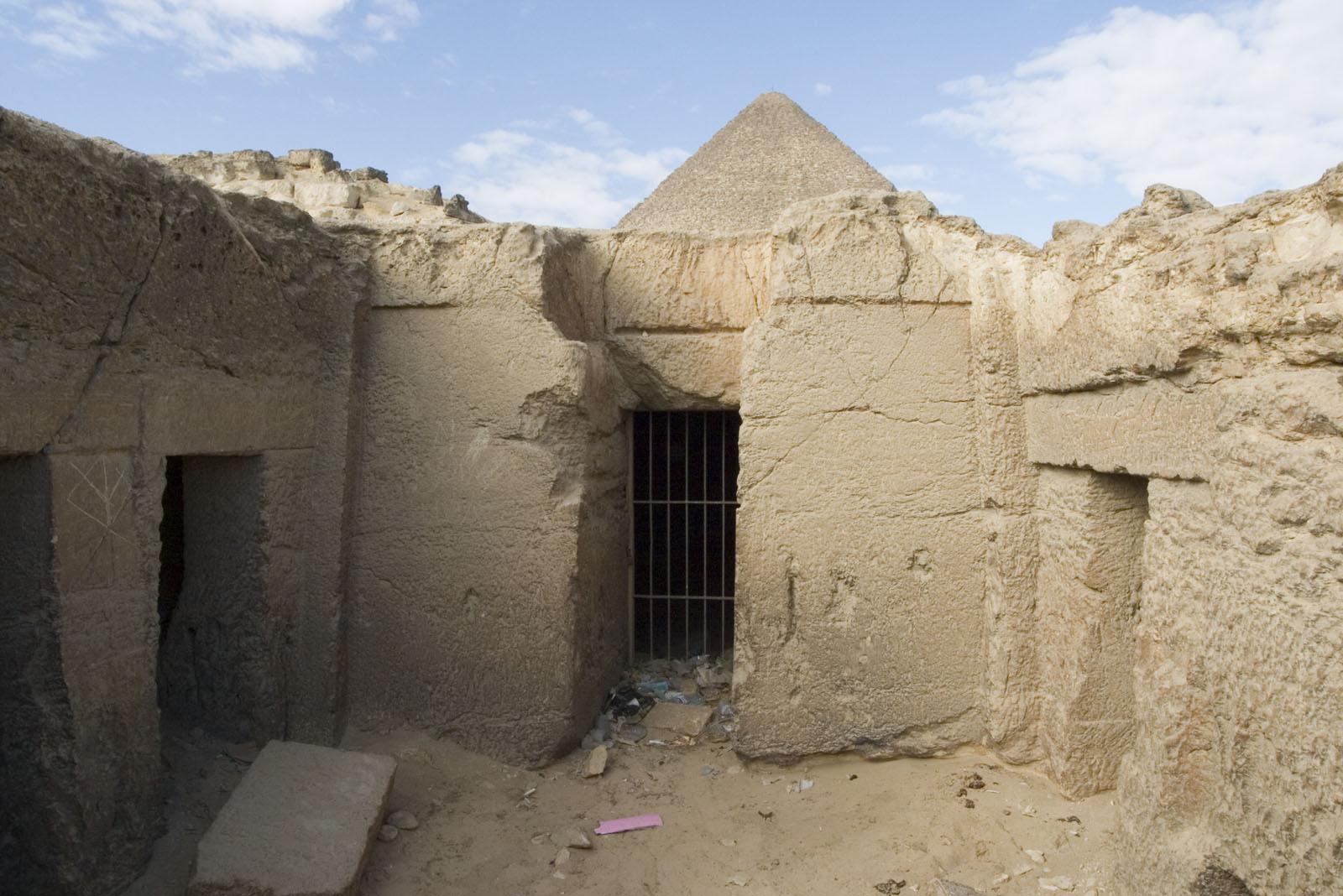 Eastern Cemetery: Site: Giza; View: Lepsius 71, Itisen, Sensnefru