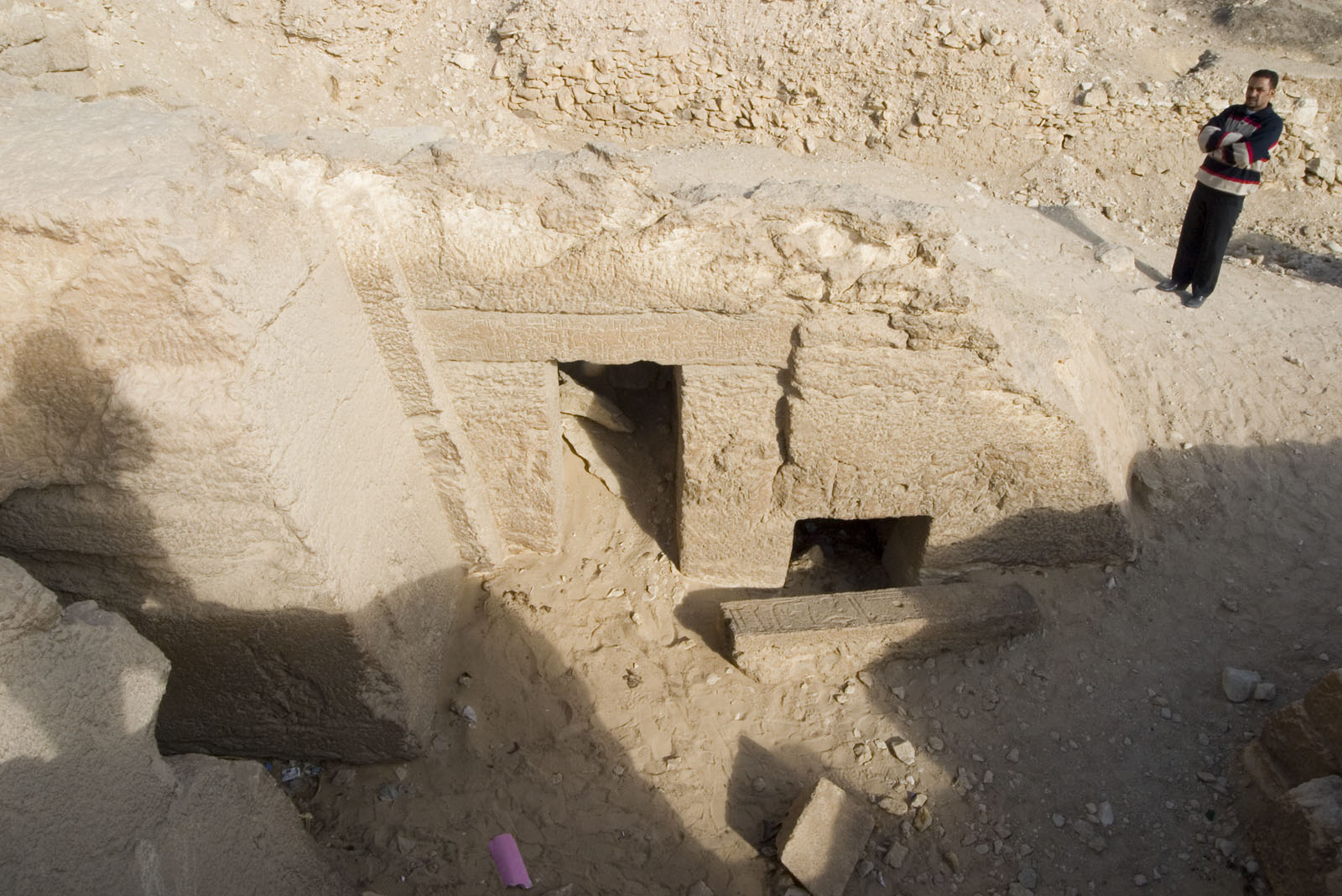Eastern Cemetery: Site: Giza; View: Itisen, G 7710