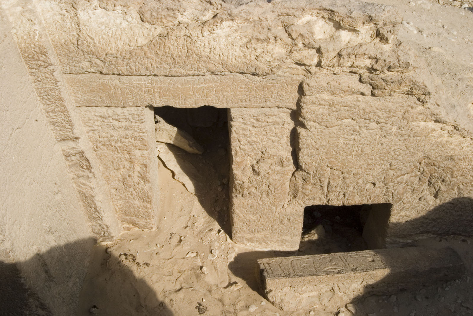 Eastern Cemetery: Site: Giza; View: Itisen, G 7710