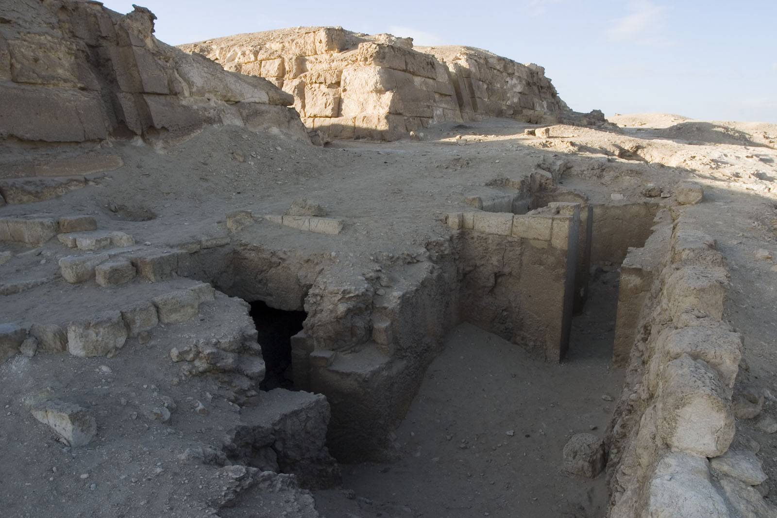Eastern Cemetery: Site: Giza; View: G 7752, G 7750