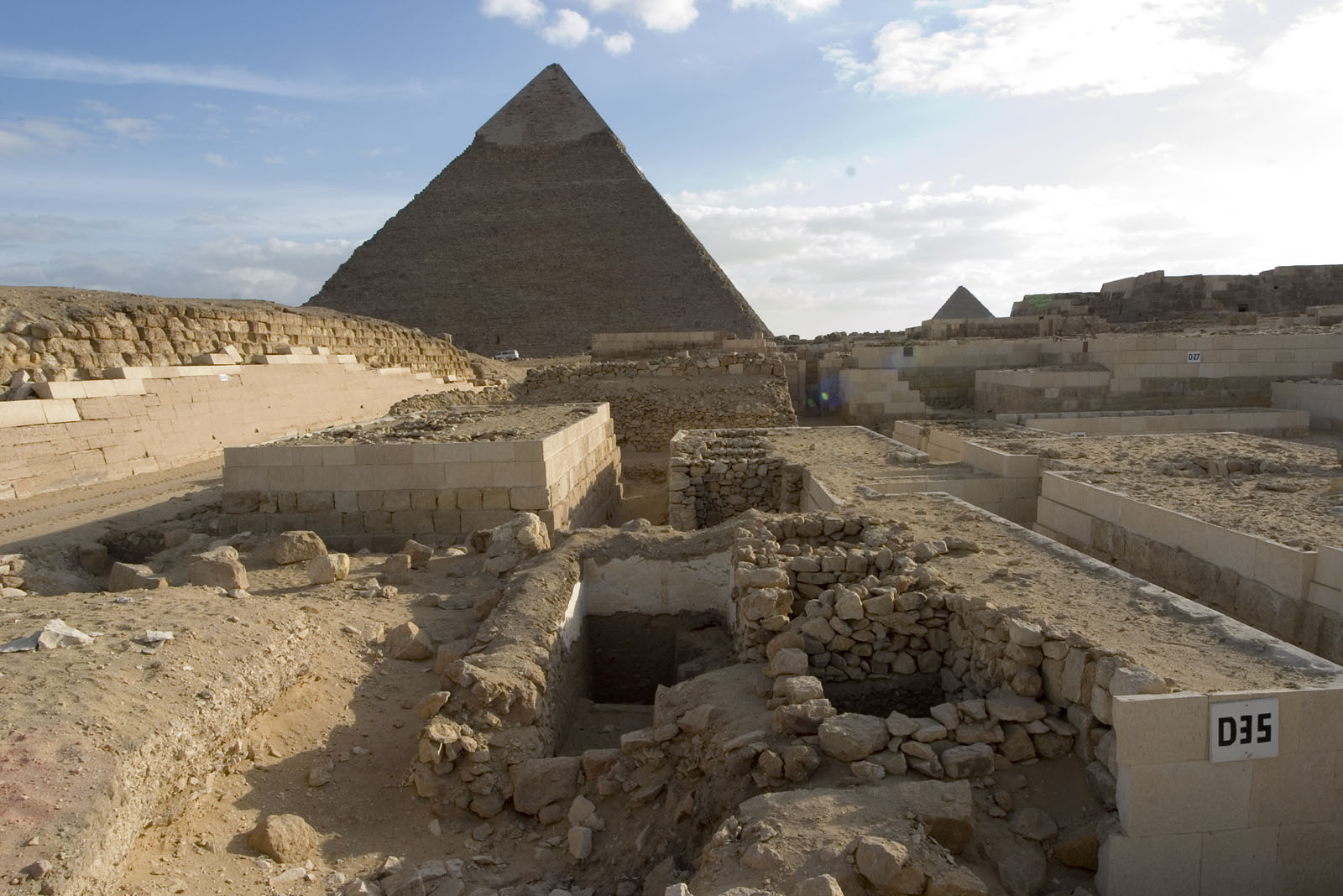 Western Cemetery: Site: Giza; View: D 35