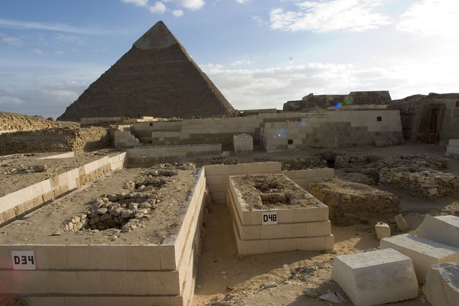 Western Cemetery: Site: Giza; View: D 27, D 34, D 48, D 70