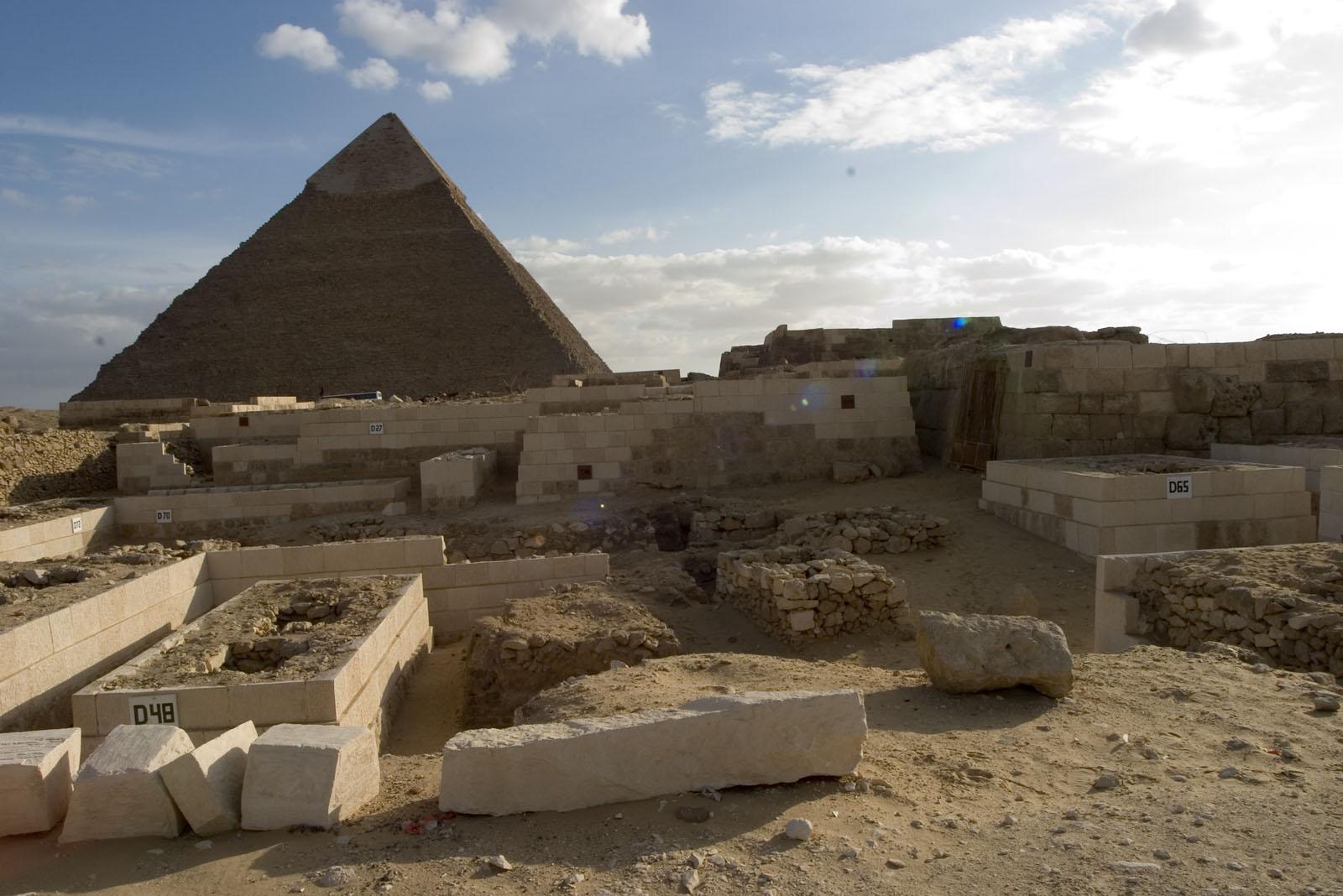 Western Cemetery: Site: Giza; View: D 27, D 48, D 65, D 70