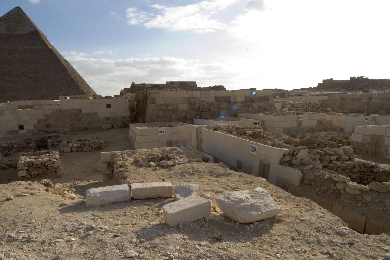 Western Cemetery: Site: Giza; View: D 9, D 11, D11A, D 12, D 46, D 65