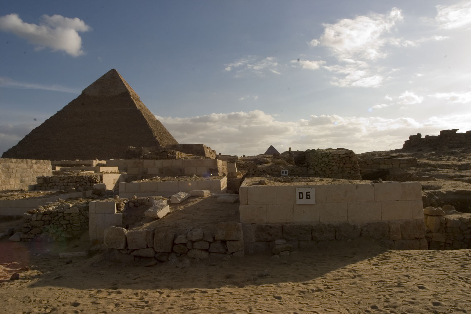 Western Cemetery: Site: Giza; View: D 6, D 8