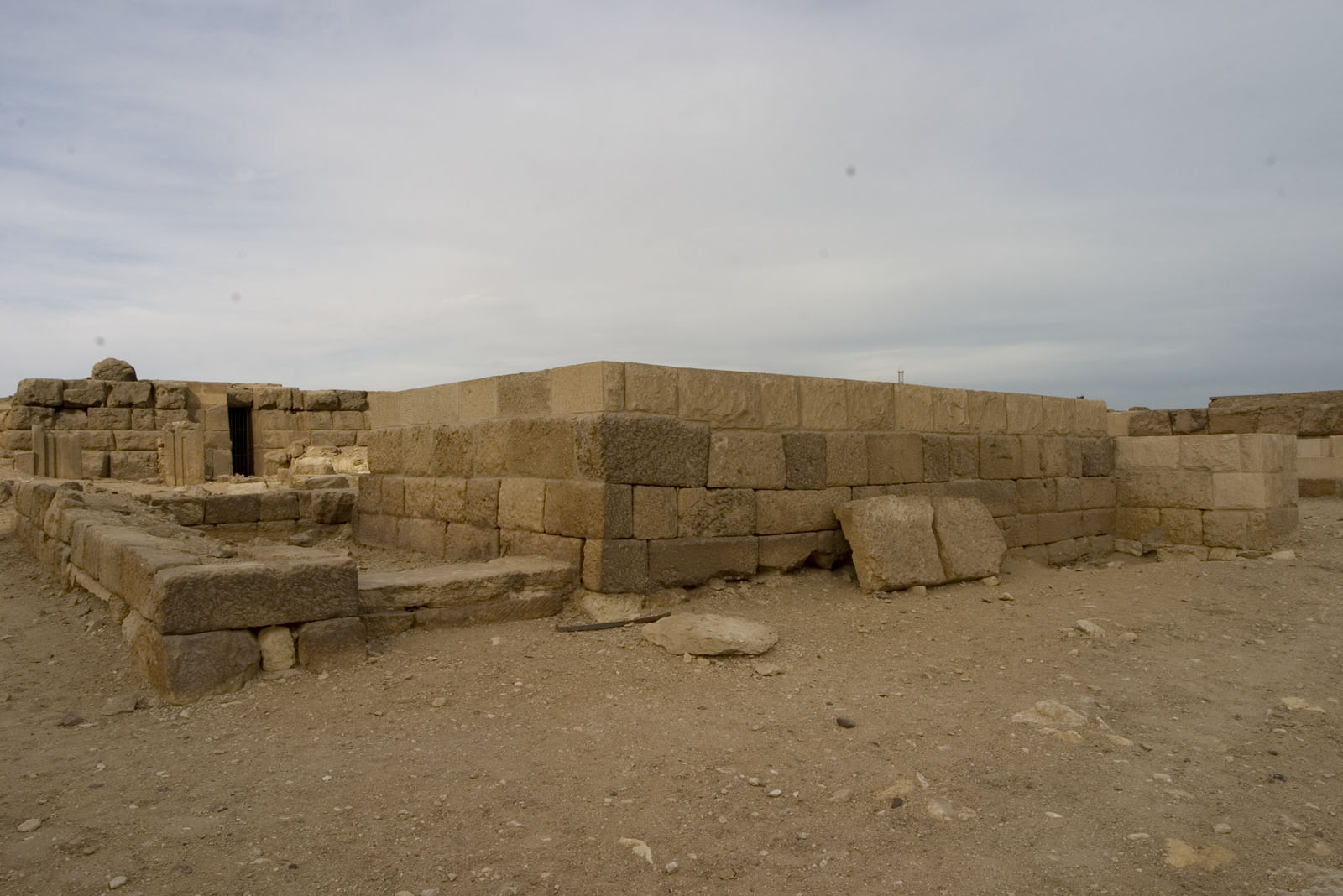 Western Cemetery: Site: Giza; View: Menhebu